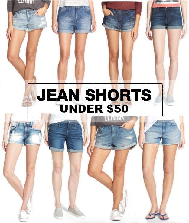 Weekend Steals & Deals Jean Shorts Under $50 Summer Fashion Outfits