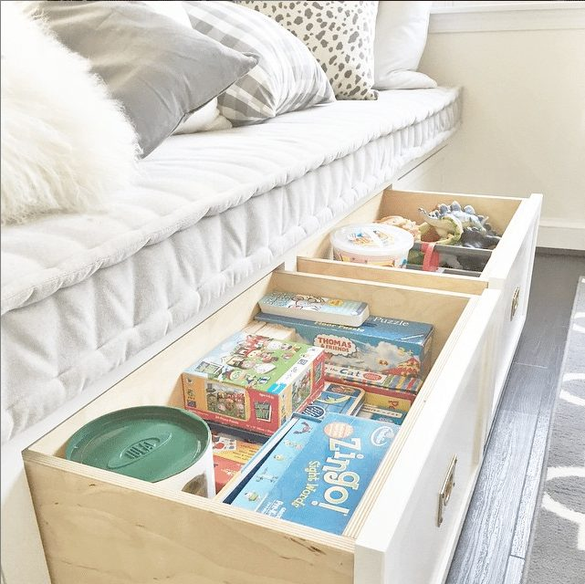 Creative Kid Rooms - Great under the bed toy storage - @ifalc