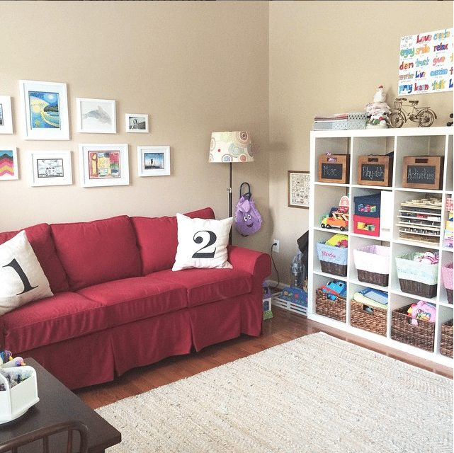 Creative Kid Rooms - @jillmyersinteriors