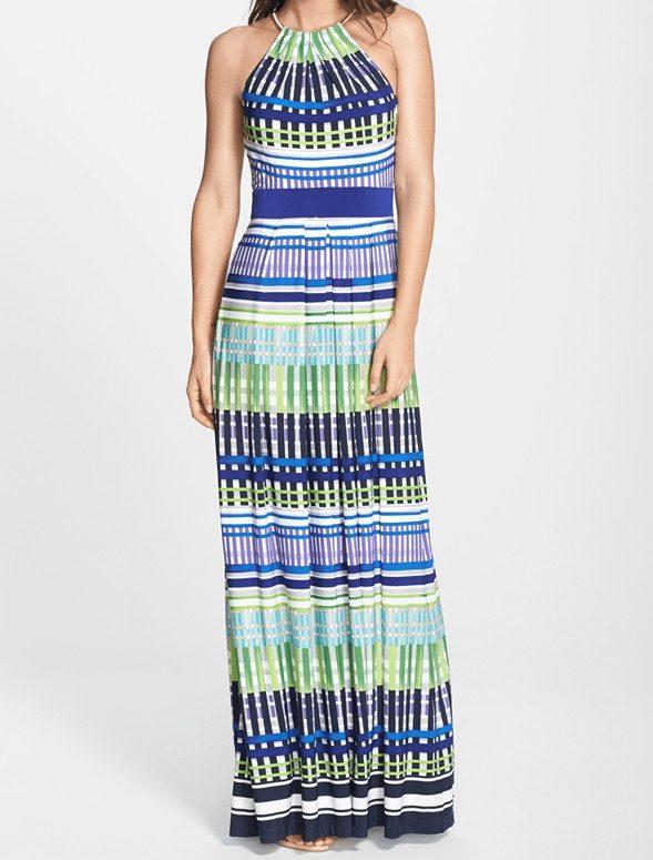 Eliza J Halter Maxi Dress