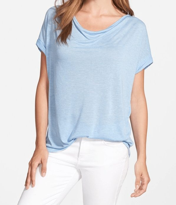 Summer Fashion - Pleione Roll Sleeve Tee
