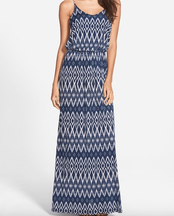 Weekend Steals & Deals - Lush Line Print Maxi