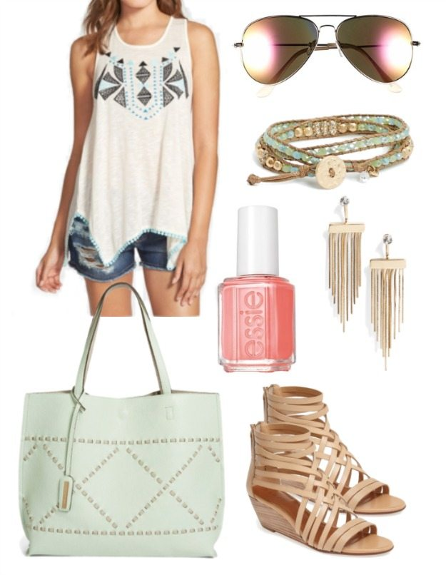 Weekend Steals & Deals Jean Shorts Summer Fashion Outfits