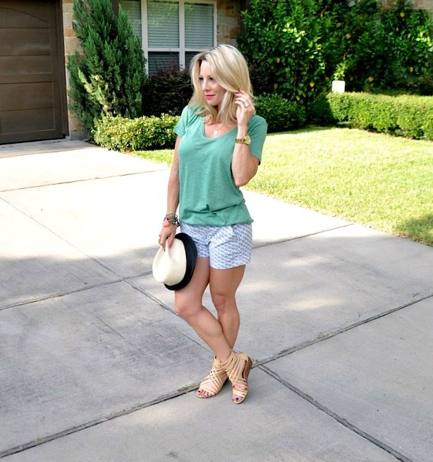 Summer Uniform - Halogen Tee and Caslon Shorts