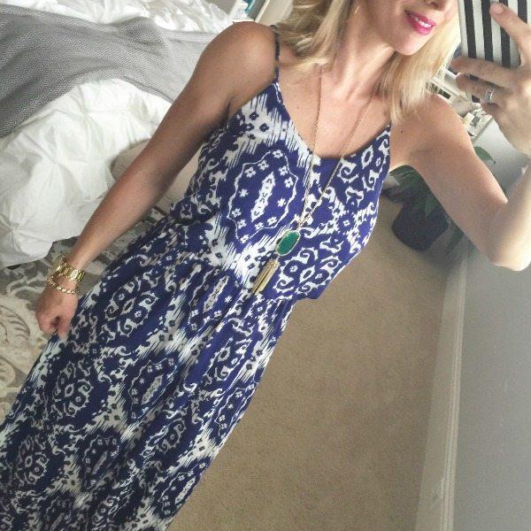 Summer Fashion   Lush Knit Maxi Dress