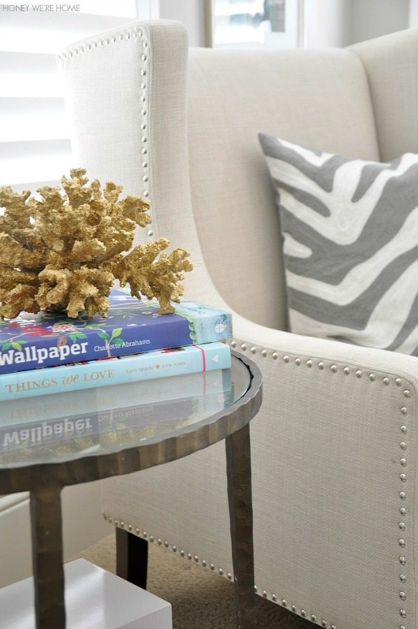 Easy summer decor - large coral