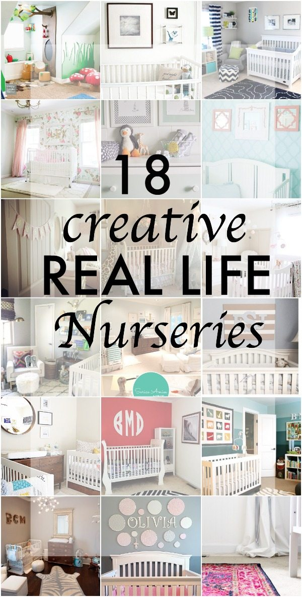 18 Creative Real Life Nurseries - From home bloggers and designers