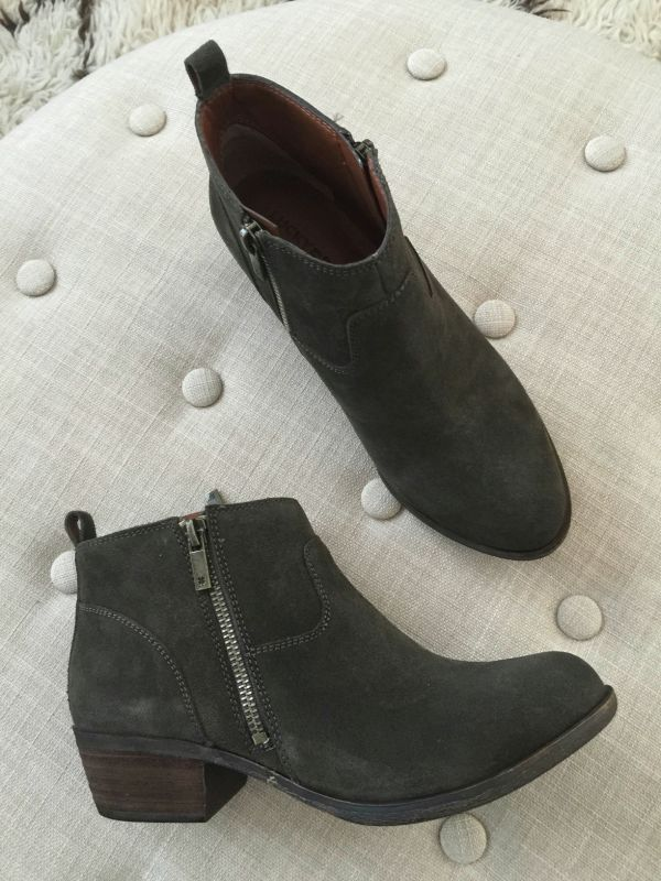 Fall fashion - Lucky Brand Betwixt Bootie