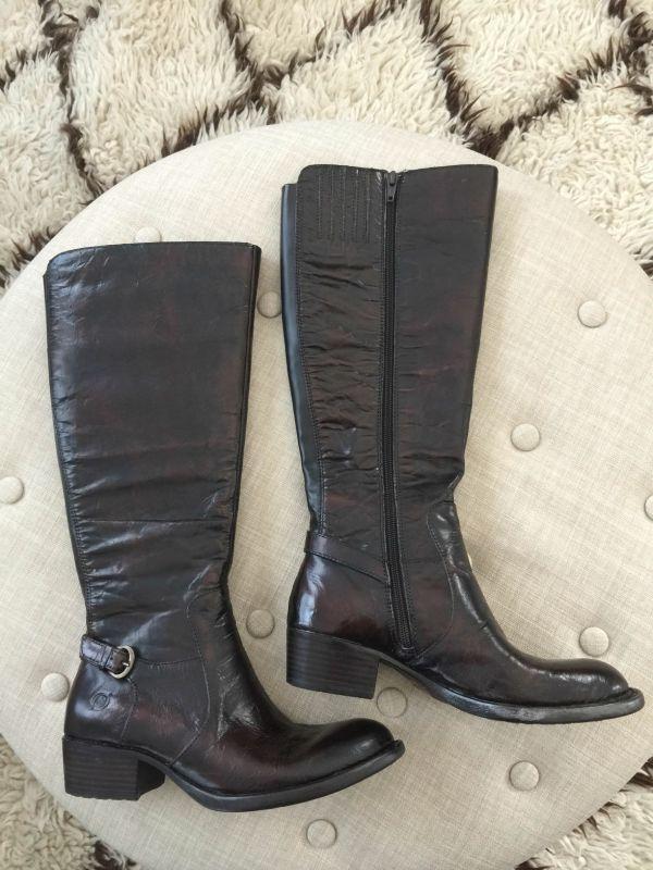 Fall fashion - Born Helen Boots