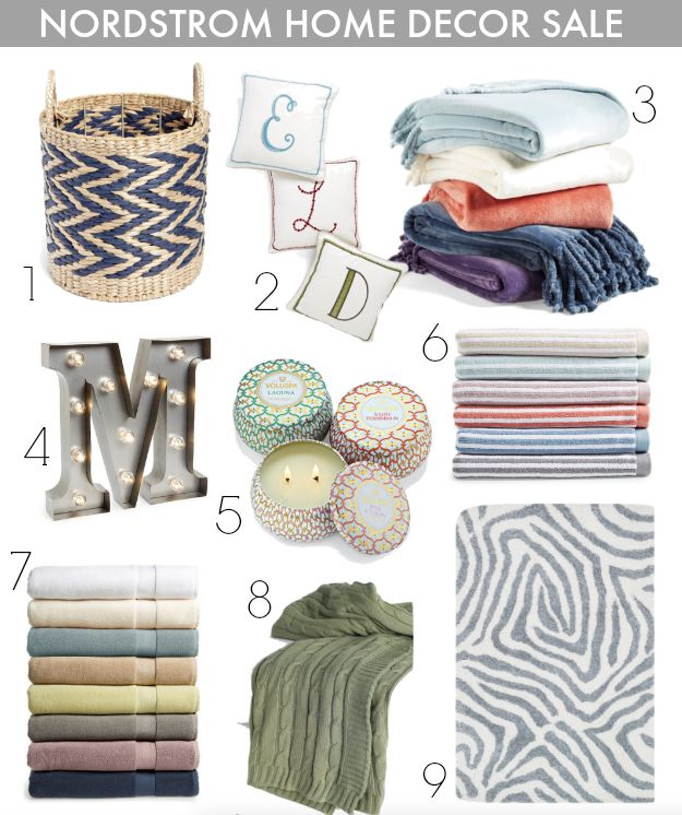 Nordstrom Anniversary Sale - Awesome Home Decor Sale Items