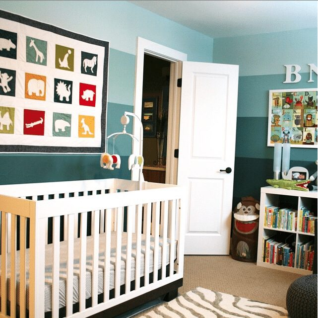 18 Creative Real Life Nurseries - Blue I Style