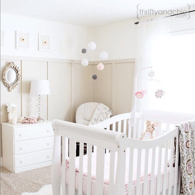 18 Creative Real Life Nurseries - Thrifty & Chic