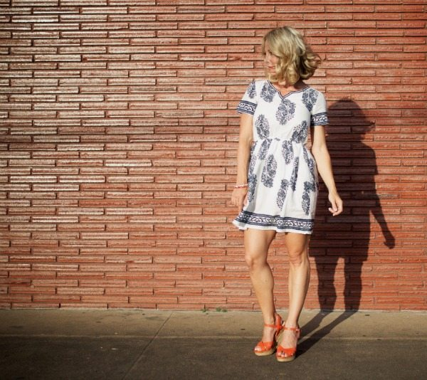 Spring/Summer fashion - tunic dress