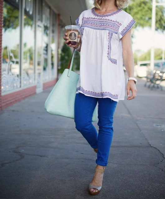 Spring/Summer fashion - tunic top