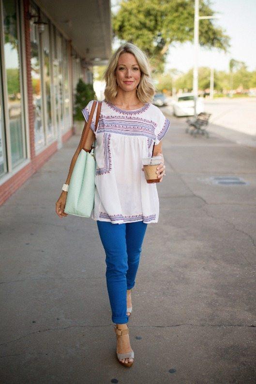 Spring/Summer fashion - tunic top