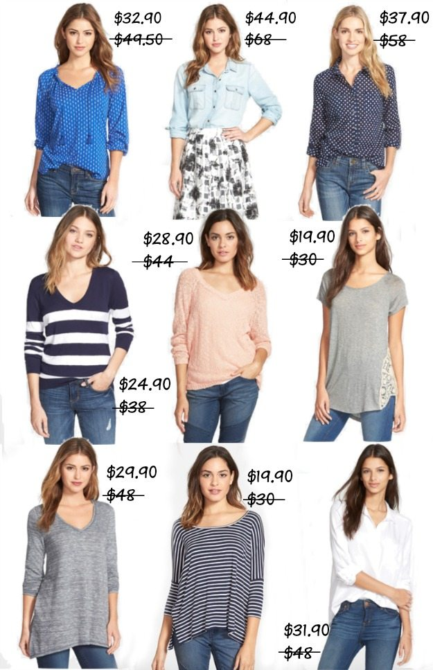 Fall Fashion - Sale tops under $45