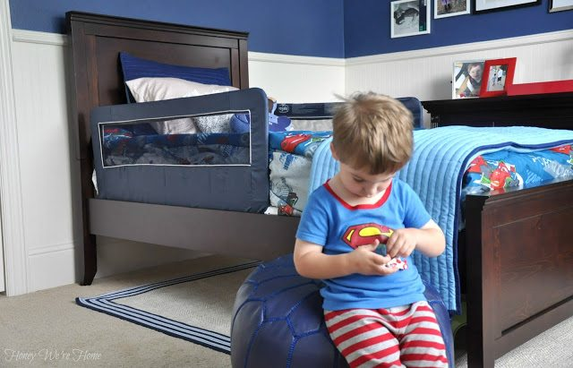 Kid twin bed from Pottery Barn Kids