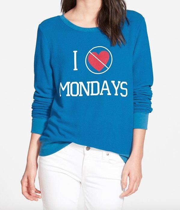 Fall fashion - no more Mondays!
