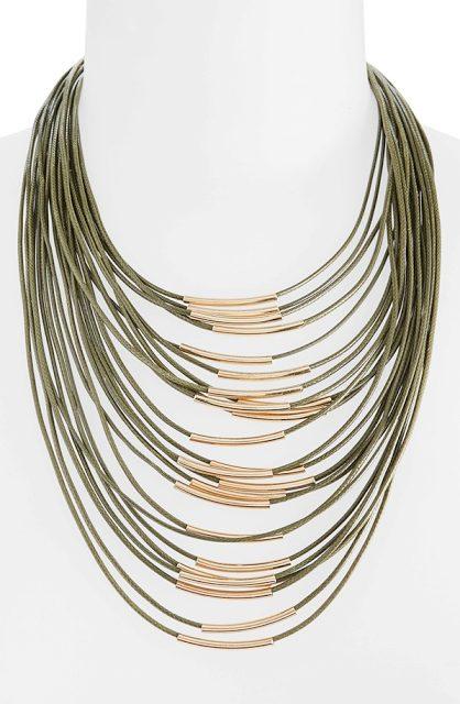 Topshop Multi-Row Necklace $22