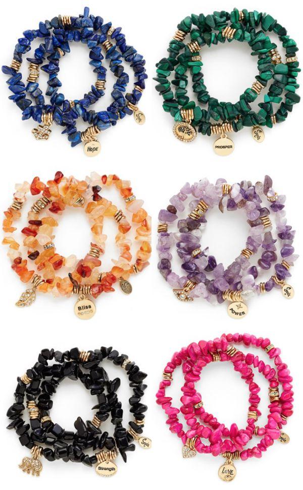 Stone Stretch Bracelets