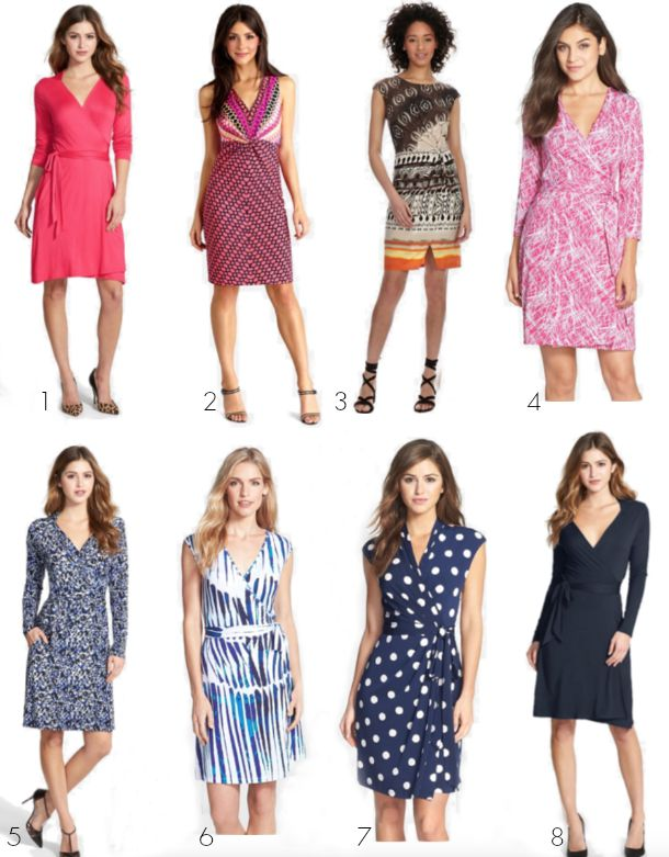 Fall Fashion - wrap dresses universally flattering on all body types