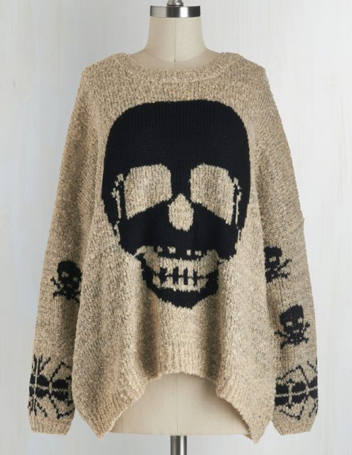 I need this Halloween sweater in my life!