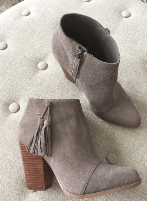 Sole Society Talisha Tassel Bootie- so cute! & outfit ideas to go with them!