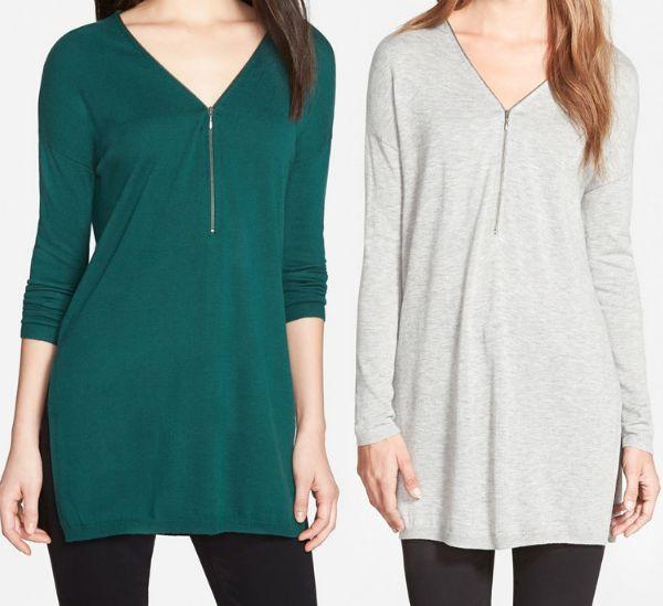 Fall Fashion - zip sweater