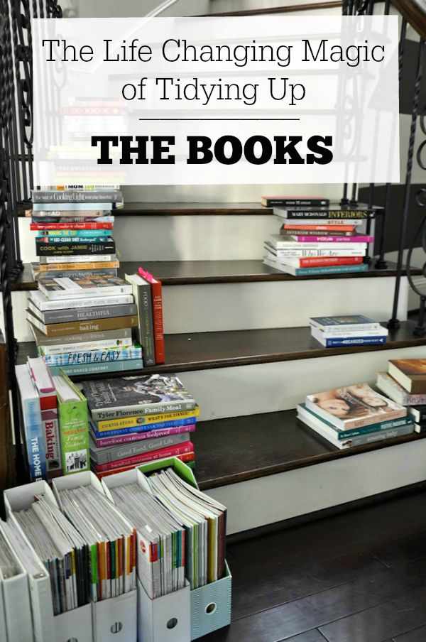 The Life Changing Magic of Tidying Up - Decluttering the BOOKS