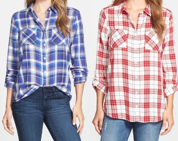 Fall fashion - v-neck blouse, for your inner boho mama!