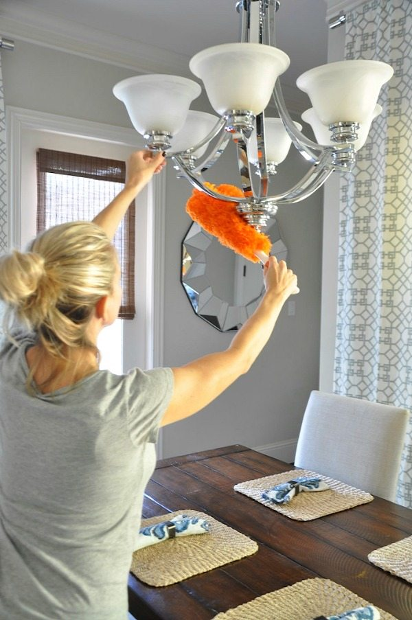 Quick Home Cleaning Routines - for bedroom, bathroom and kitchen
