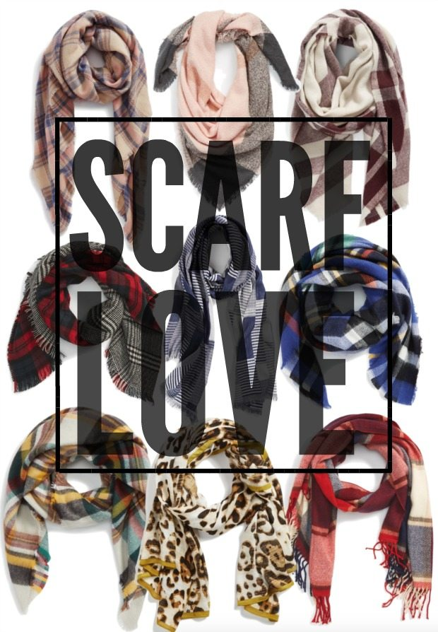 Fall Fashion - SCARF LOVE !!!