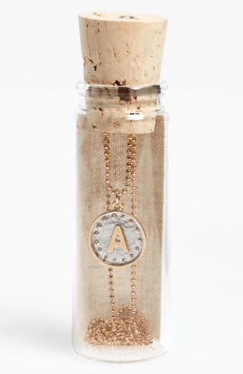 Initial Necklace - everyone is getting one of these for Christmas and they're on sale for under $25!