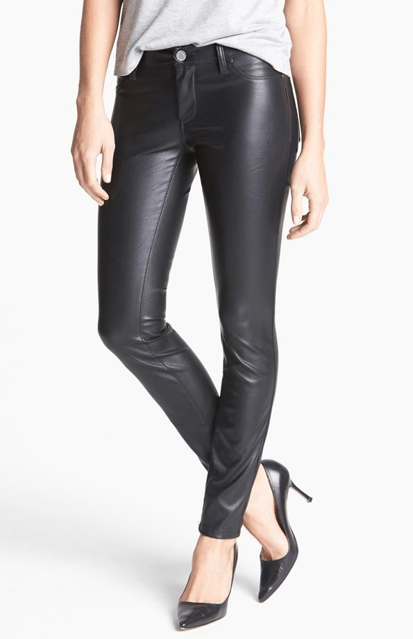 fall fashion - BLANKNYC Faux Leather Skinny Pants ($98)