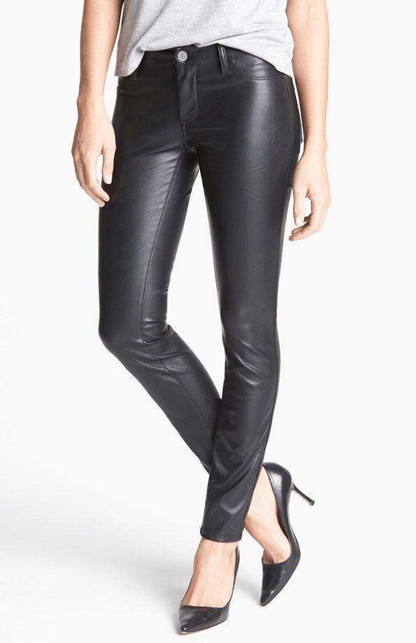 fall fashion - BLANKNYC Faux Leather Skinny Pants ($98)
