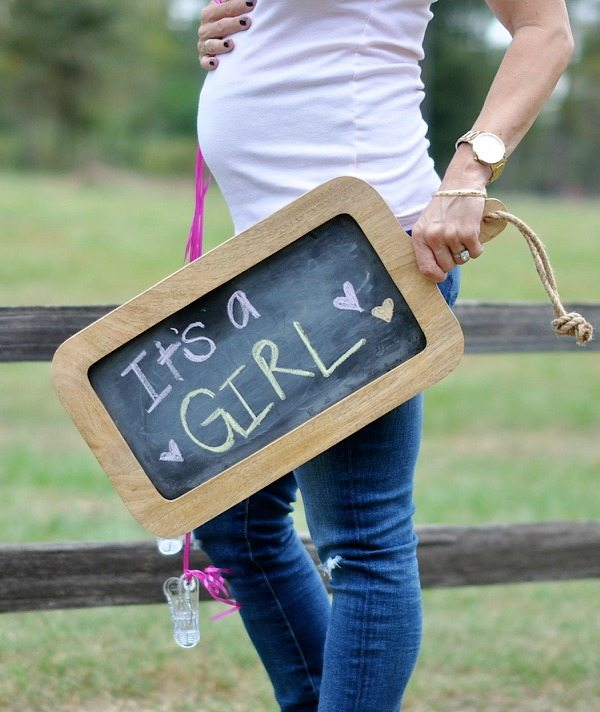 Gender Reveal - It's a Girl   Honey We're Home
