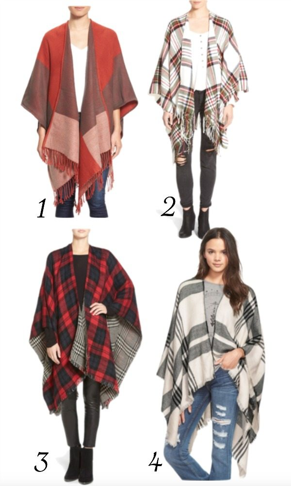Fall fashion - affordable ponchos