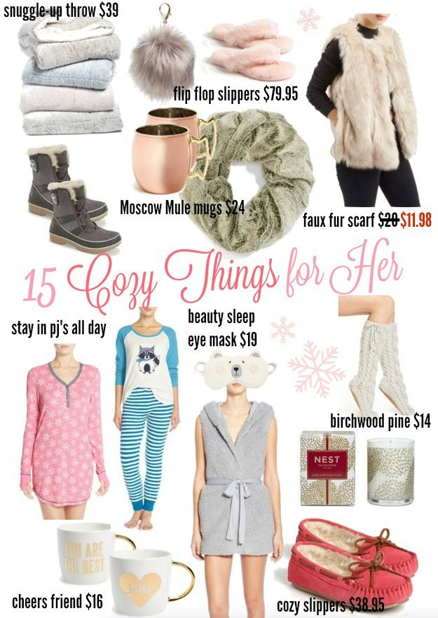 15 Cozy Things for Her Holiday Gift Guide