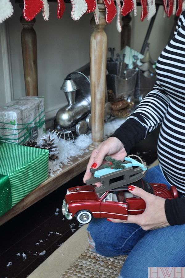 Festive holiday decor using real toys | Honey We're Home