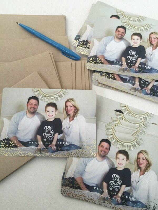 Minted Holiday Cards | Honey We're Home