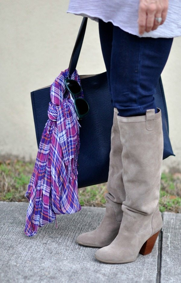 Sole Society 'Rumor' Slouchy Knee High boot - really comfortable, gorgeous color