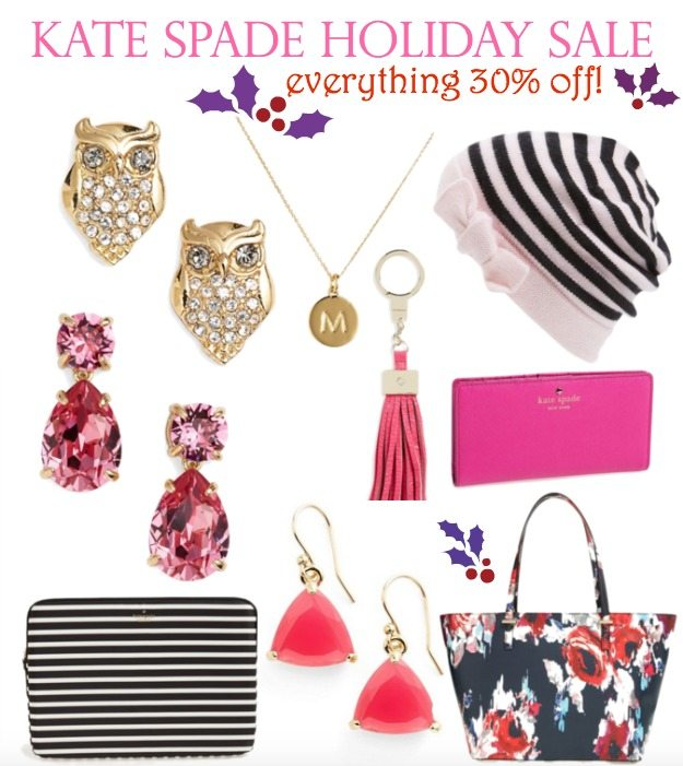 Kate Spade Holiday Sale - Everything 30% off!
