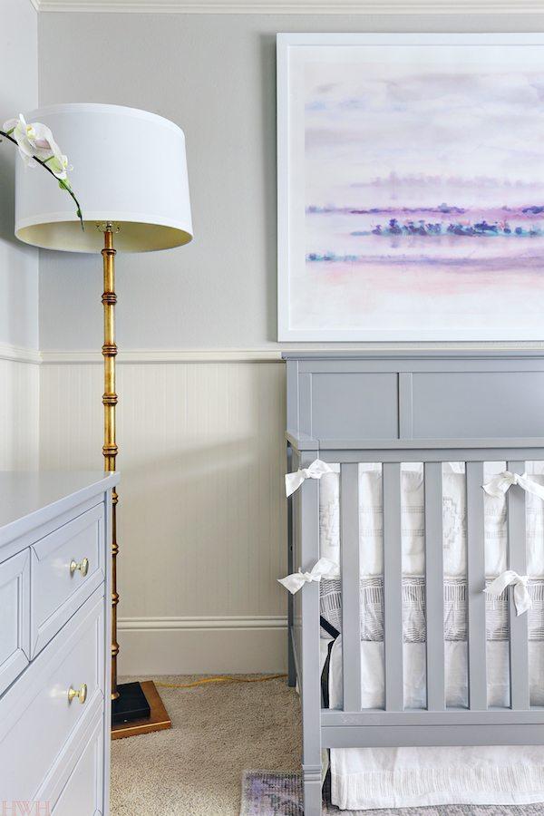 Baby Girl's Lavender Nursery | Honey We're Home