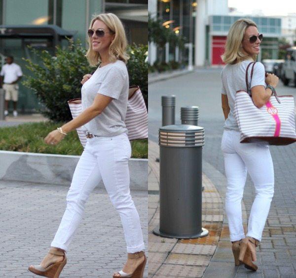 AG - 'The Prima' Mid Rise Cigarette Jeans