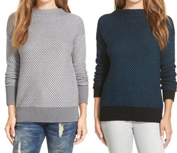 Winter fashion | Funnel neck sweater