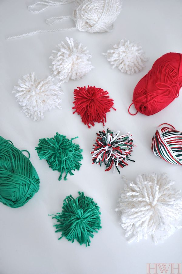 iu0027ve also seen tutorials for small pom poms where people wrapped the thread around a fork that would work too