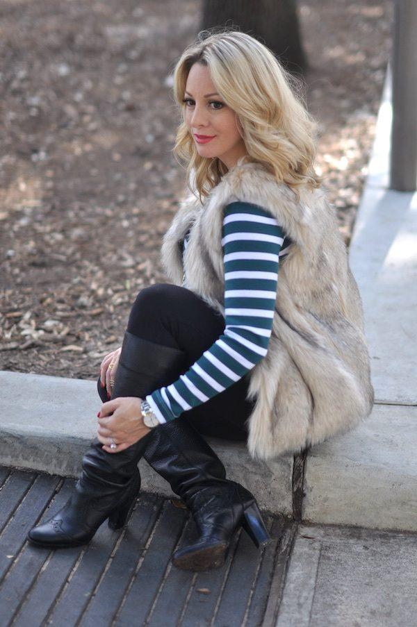 Winter/Fall Fashion Faux Fur Vest