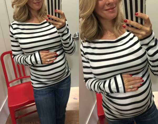 Fall & Winter fashion | striped boatneck tee