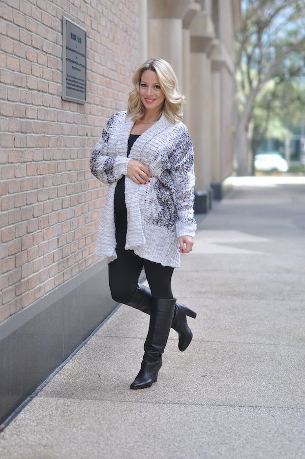 Winter Fall Fashion Cozy Cardigan
