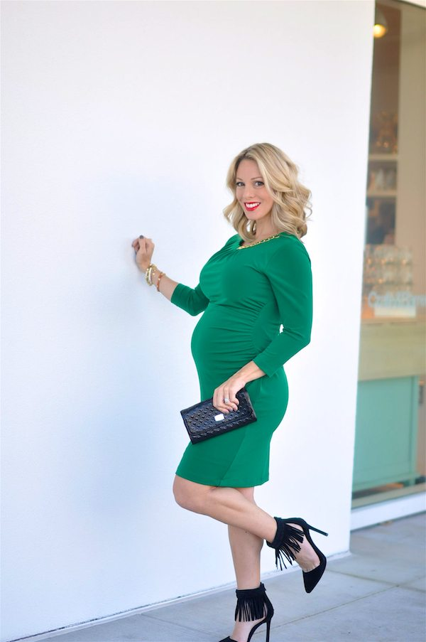 Dressing the bump - holiday style #27weekspregnant